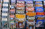 Italy, Campania, Pompei, guidebook