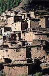 Maroc, vallée de l'Ourika, village berbère