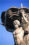 Italy, Rome, santa Maria in Cosmedin, fountain