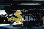 Décoration d'Italie, Venise, sur une gondole