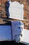 Détail d'Italie, Venise, d'un pont