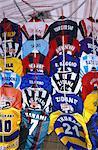 Italy, Venice, shirt of footballer