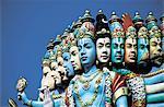 Singapour, temple hindou Sri Perumal
