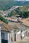 Brazil, Minas Gerais, Ouro Preto.