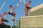 Japon, Tokyo, Shinjuku, buldings Works