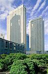 Japon, Tokyo, Shinjuku, immeubles de bureaux