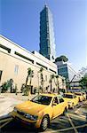 China, Taiwan, at the foot of the Taipei Financial Center