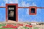 Maison du Mexique, du Yucatan,