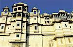 India, Rajasthan, Udaipur, City palace