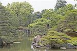 Japan, Kyoto, Nijo-jo imperial castle garden