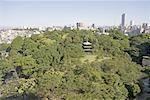 Jardin du Japon, Tokyo, l'hôtel Four seasons