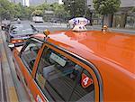 Japan, Tokyo, Ginza, taxi