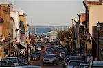 Cars on the street, Annapolis, Maryland, USA