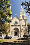 Facade of a church, San Francisco California, USA