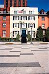 Low angle view of the Blair House Washington DC, USA