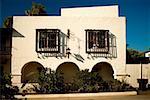 Facade of a building in Old Town San Diego, San Diego, California, USA