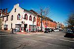 Building along the street, Old Town, Alexandria, Virginia, USA