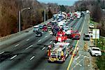 Accident de la circulation sur la rocade 495, Bethesda, Maryland
