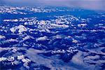 Luftbild von Bergketten, Britisch-Kolumbien, Kanada