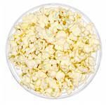 Schüssel Popcorn