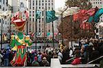 Rockefeller Center à Noël, New York City, New York, États-Unis