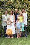 Famille Portrait en plein air