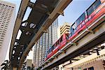Light Rail, Miami, Florida, USA
