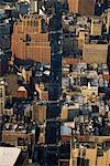 Vue aérienne de la ville de New York, New York, USA