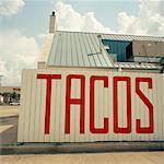 Panneau publicitaire Tacos