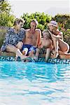 Famille de piscine