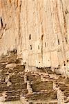 Pueblo Ruins, Bandelier National Monument, New Mexico, USA