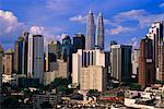 Kuala Lumpur Skyline, Financial District, Malaysia