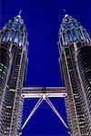 Tours jumelles Petronas, Kuala Lumpur, Malaisie
