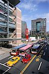 Overview of City Traffic, Taipei, Taiwan