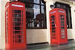 Phone Booths, London, England