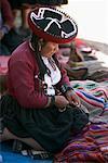 Woman at Sunday Market, Chinchero, Peru
