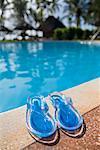 Sandals at Pool Side, Zanzibar, Tanzania