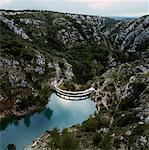 France, Provence, barrage de Bimont