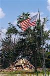 Aftermath of Hurricane Damage, Biloxi, Mississippi, USA