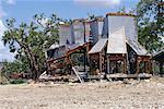 Dégâts de l'ouragan, Biloxi, Massachusetts, USA