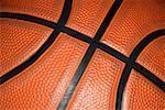 Close up of a basketball