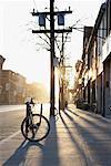 Rue de la Reine à l'aube, Toronto (Ontario)