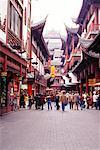 Einkaufsviertel, Shanghai, China