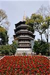 Gebäude außen, West-See, Hungzhou, China