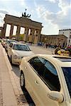 Cars Parked at the Pariser Platz, Berlin, Germany