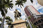 Statue of Bertrand Francois Mahe de la Bourdonnais, Port Louis, Mauritius