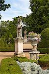 Statues in Garden, Queluz Palace, Queluz, Portugal