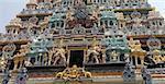 Entrée à Singapour de Temple hindou Claden