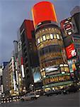 Nightlife in Ginza Region, Tokyo, Japan