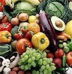 Fruits et légumes fond